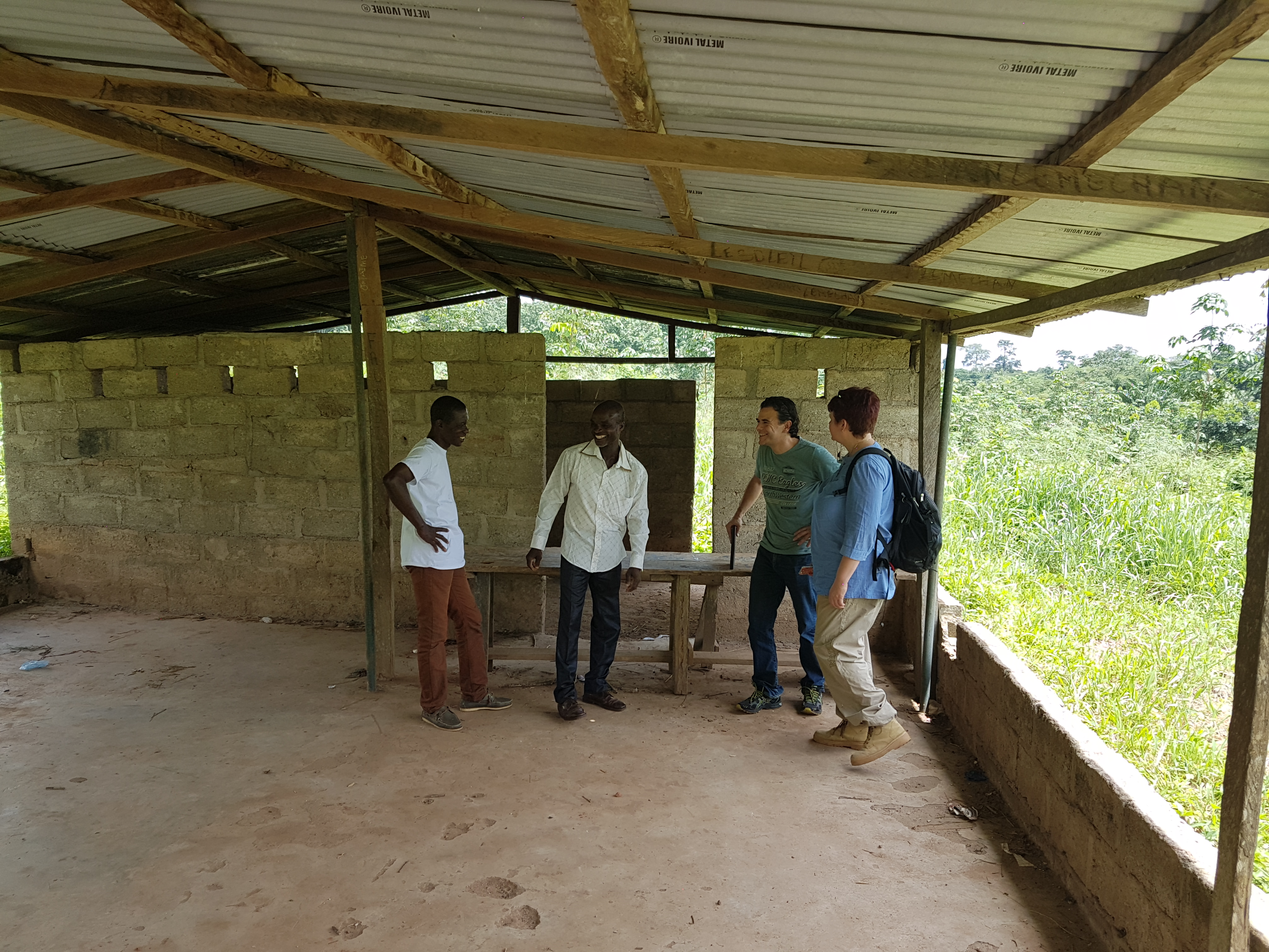 School Canteen near Agboville (CI)